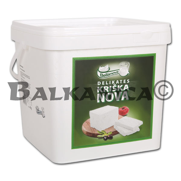 8 KG QUESO BLANCO DELICATESSEN KRISKA PVC BELLANOVA