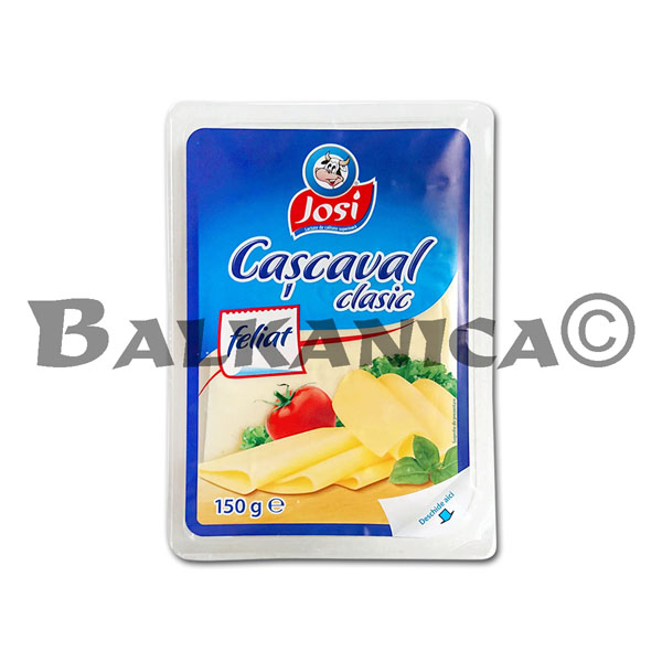 150 GR QUESO CASCAVAL CLASIC LONCHAS JOSI