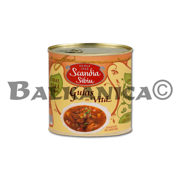 400 G GOULASH WITH VEAL SCANDIA SIBIU