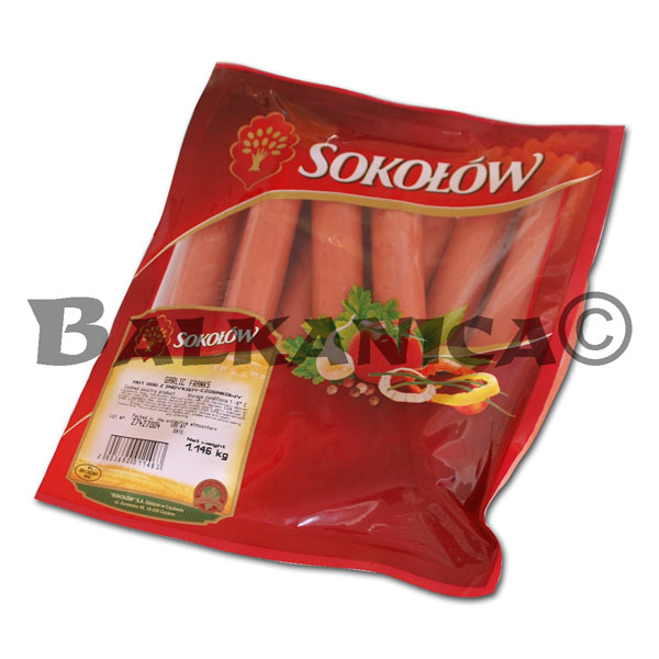 SALCHICHAS HOT DOG DE PAVO SOKOLOW