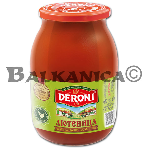 1.07 KG LUTENITSA HOMEMADE FINELY GROUND DERONI