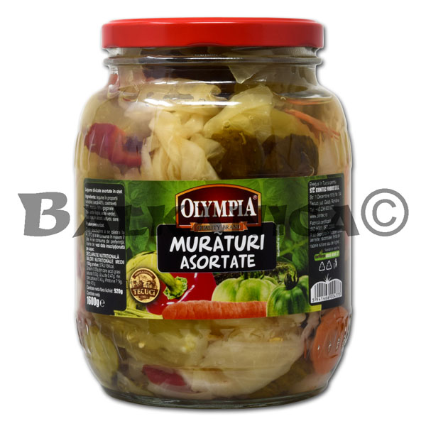 1.6 KG PICKLED VEGETABLES MIXED OLYMPIA