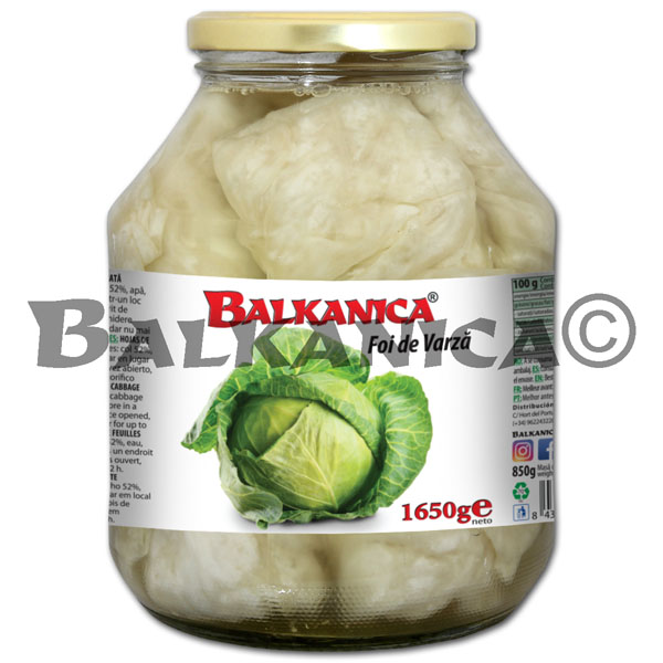1.5 KG CABBAGE LEAVES BALKANICA