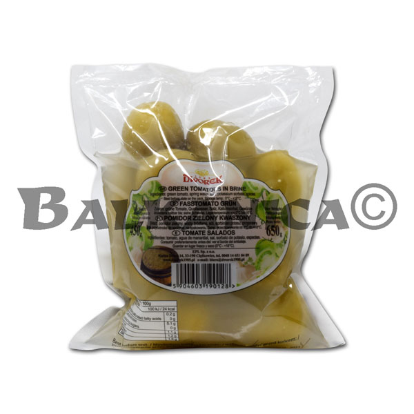 650 GR GREEN TOMATOES IN BAG DWOREK