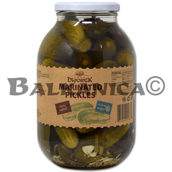2 KG PICKLED CUCUMBERS DWOREK