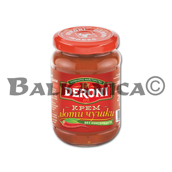 205 G CHILI PEPPERS CREAM DERONI