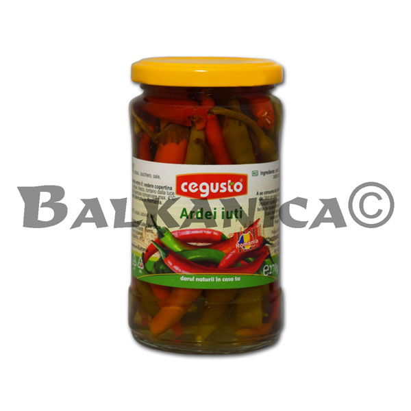 270 GR CHILI PEPPERS CEGUSTO CONSERVFRUCT