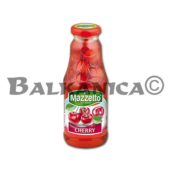 330 ML BEBIDA REFRESCANTE CON CEREZAS MAZZETTO