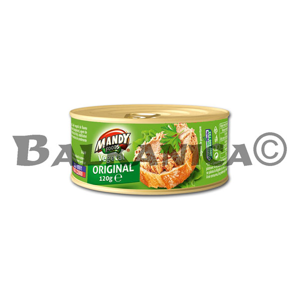 120 G PATE VEGETAL ORIGINAL MANDY