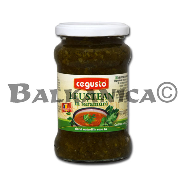300 G LOVAGE IN BRINE CEGUSTO CONSERVFRUCT