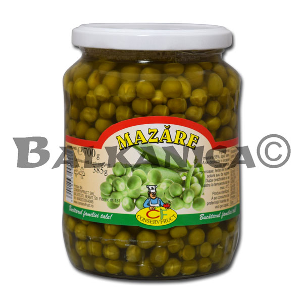 700 G GUISANTES CONSERVFRUCT
