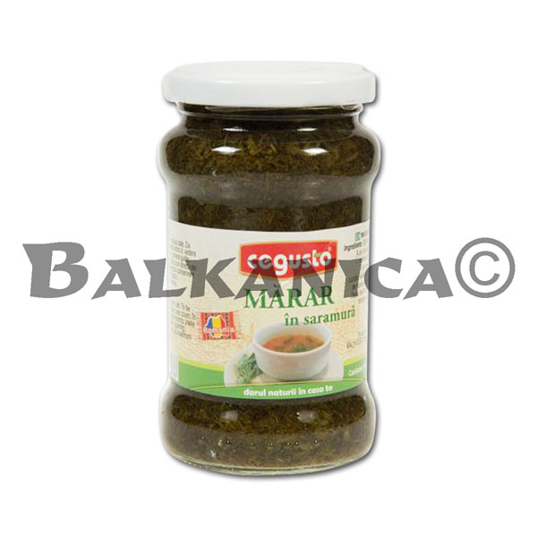 300 G DILL IN BRINE CEGUSTO CONSERVFRUCT