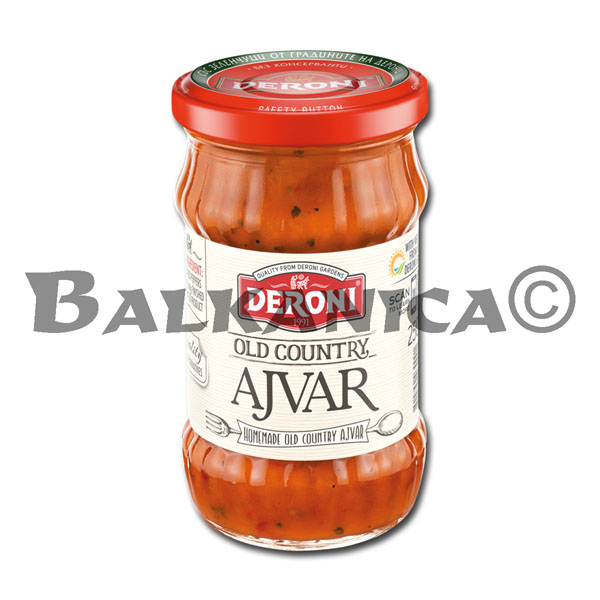 250 G AYVAR HOMEMADE OLD COUNTRY DERONI