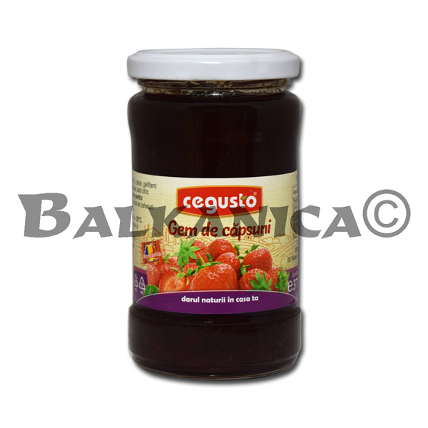 370 GR JAM STRAWBERRY CEGUSTO CONSERVFRUCT