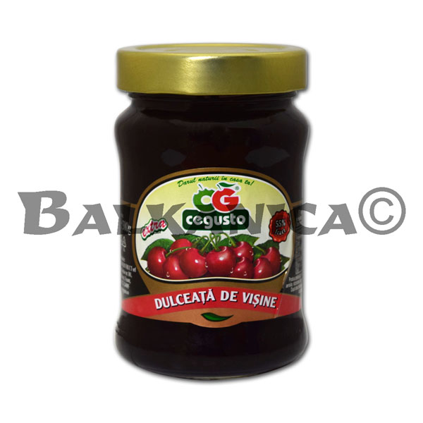 380 GR JAM SOUR CHERRY CEGUSTO CONSERVFRUCT