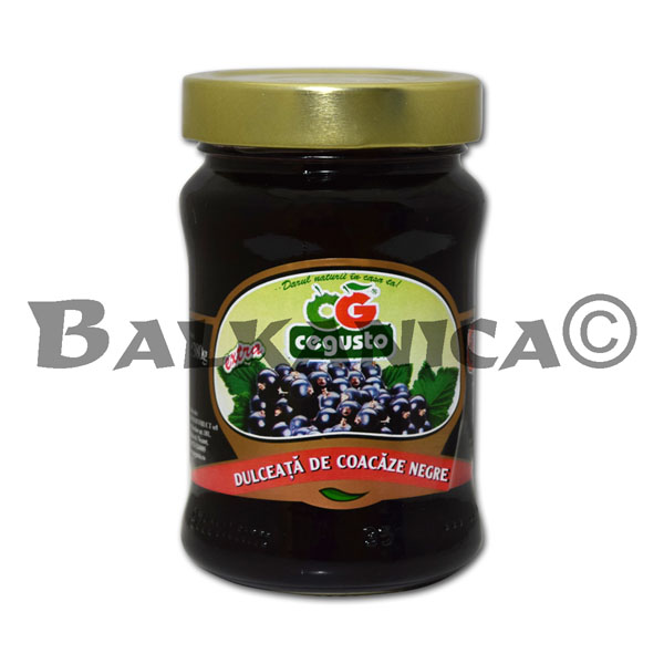380 GR JAM BLACK CURRANT CEGUSTO CONSERVFRUCT