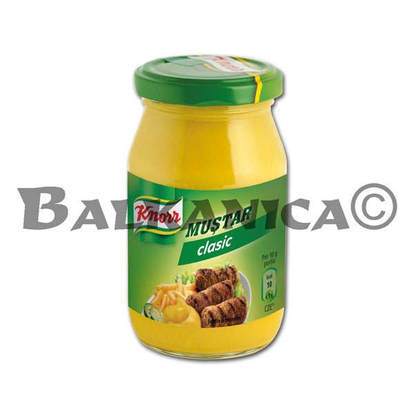 270 GR MOSTAZA CLASSIC KNORR