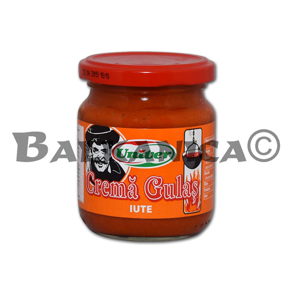 210 GR GOULASH SAUCE HOT UNIVER