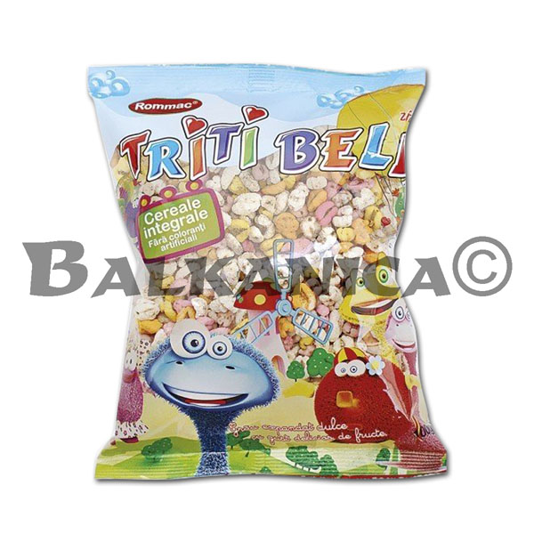 100 GR CEREALES EXPANDIDOS AROMA FRUTAS TRITI BELL