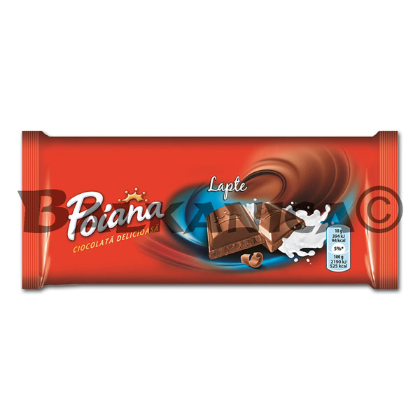 90 G CHOCOLATE LECHE POIANA