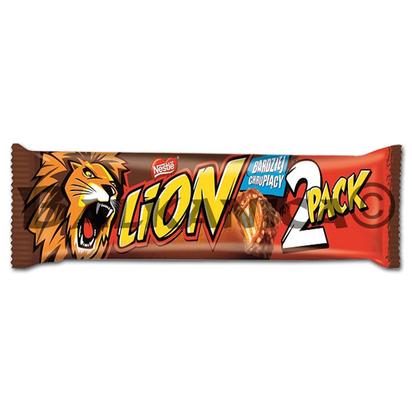 60 G BARRITA LION 2 PACK