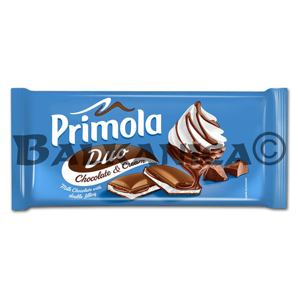 89 G CHOCOLATE MILK WITH CREAM DUO PRIMOLA