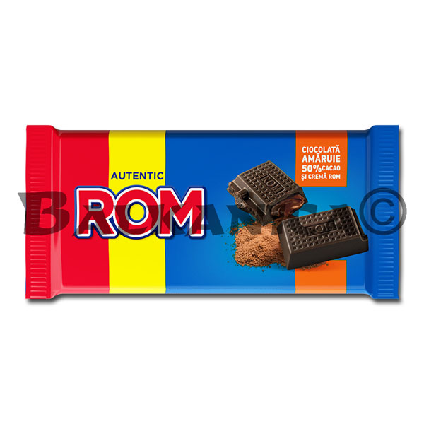 88 GR CHOCOLATE 50% CACAO ROM
