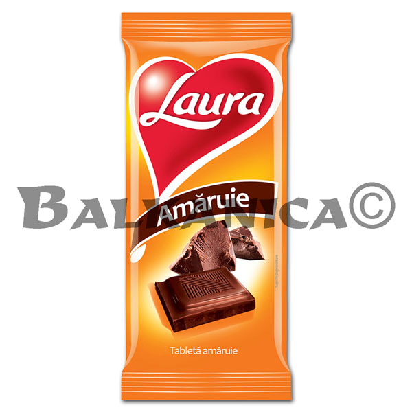 90 G CHOCOLATE AMARGO LAURA