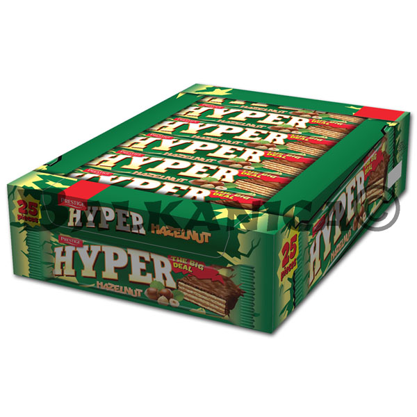 55 GR WAFER HAZELNUT HYPER