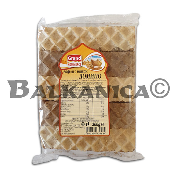 200 GR BARQUILLOS TAHINI DOMINO GRAND COMMERCE