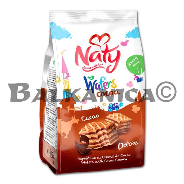 180 GR BARQUILLOS CACAO NATY