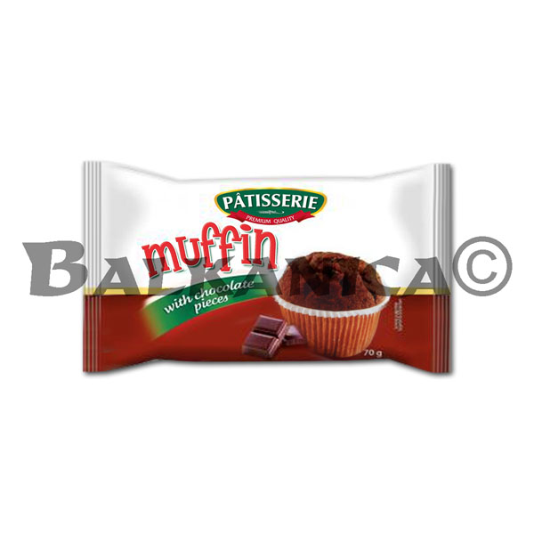 70 G MUFFINS WITH CHOCOLATE BITS PATISSERIE DERPAN