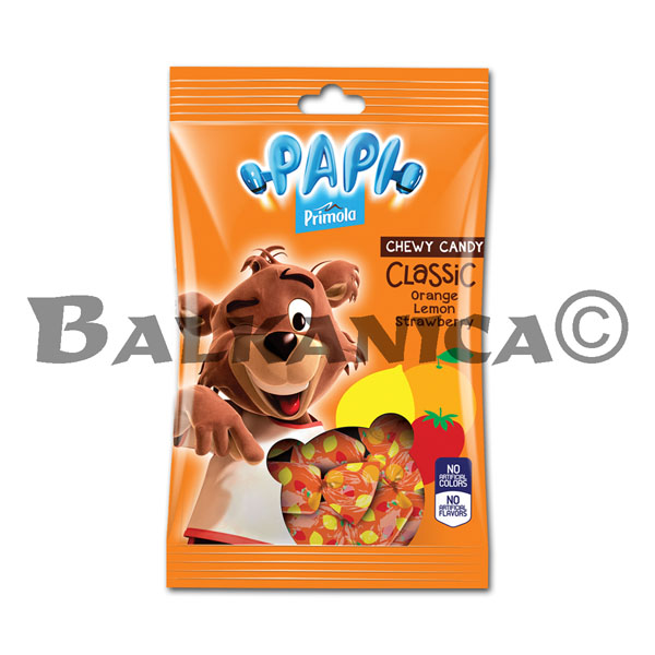 200 G CANDIES CHEWING CLASSIC PAPI PRIMOLA