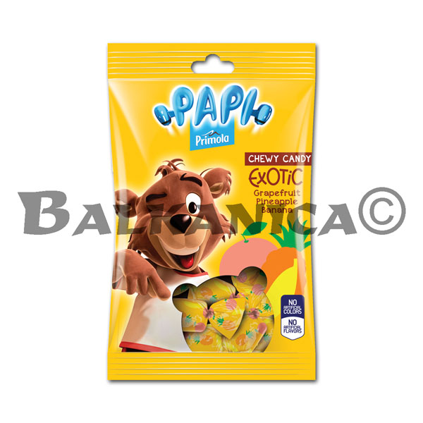 200 G CANDIES CHEWING EXOTIC PAPI PRIMOLA
