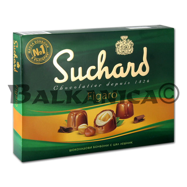 153 G CHOCOLATE CANDIES FIGARO SUCHARD