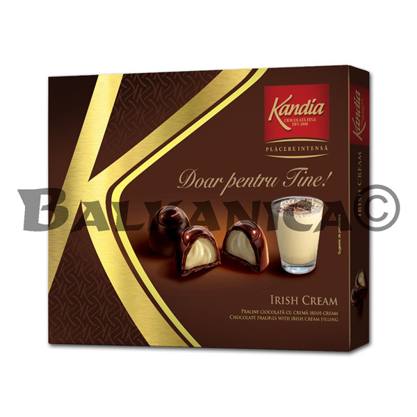 104.5 GR PRALINE WITH IRLAND CREAM FOR YOU KANDIA