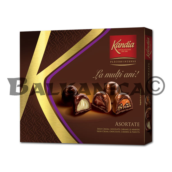 104.5 GR PRALINE ASSORTED CONGRATULATIONS KANDIA