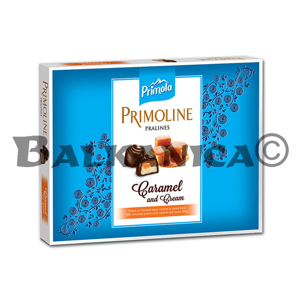 104.5 G PRALINE MILK WITH CARAMEL CREAM PRIMOLINE PRIMOLA