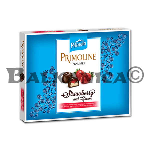 103.5 G PRALINE MILK WITH STRAWBERRY CREAM PRIMOLINE PRIMOLA