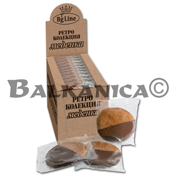 70 GR GALLETA DE MIEL RETRO BG LINE