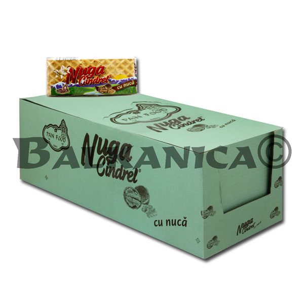 40 GR TURRON NOUGAT CON NUECES CINDREL PAN FOOD