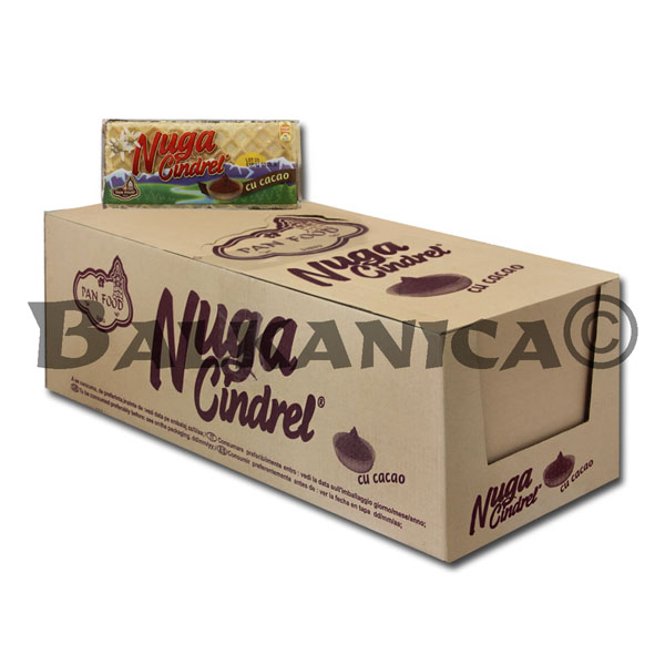 50 GR TURRON NOUGAT CACAO CINDREL PAN FOOD
