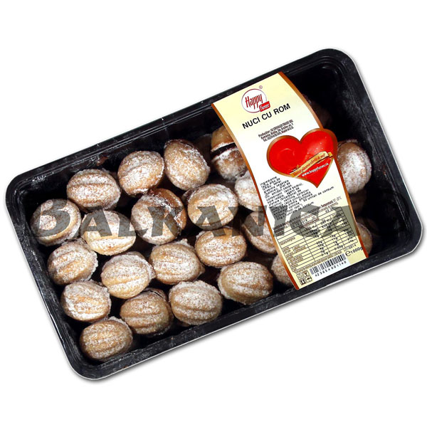 1 KG PASTELITOS DULCES NUECES RON HAPPY