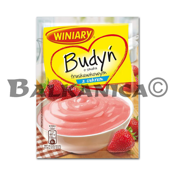 60 GR PUDDING STRAWBERRY WINIARY