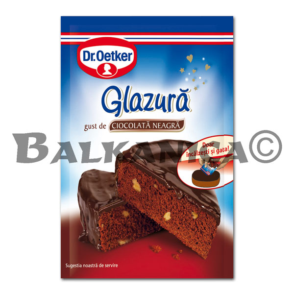100 GR CHOCOLATE PARA GLASEAR NEGRO DR.OETKER