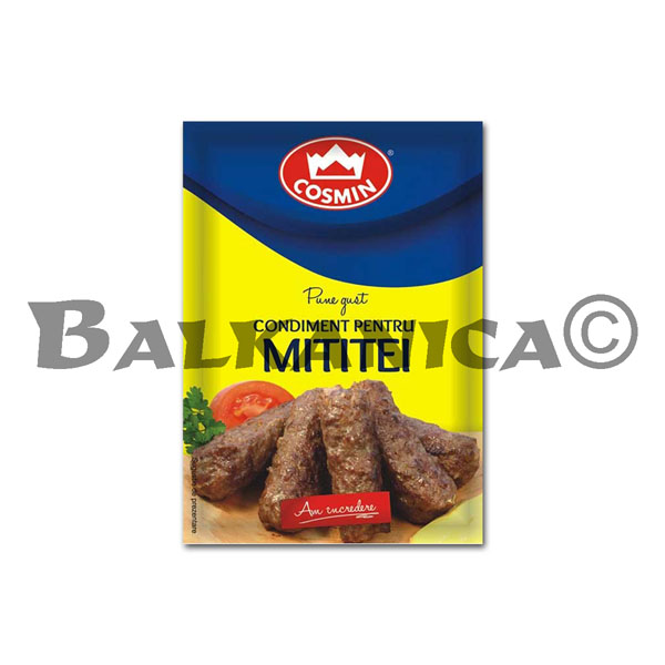 20 GR SPICE FOR SKINLESS SAUSAGES (MICI) COSMIN