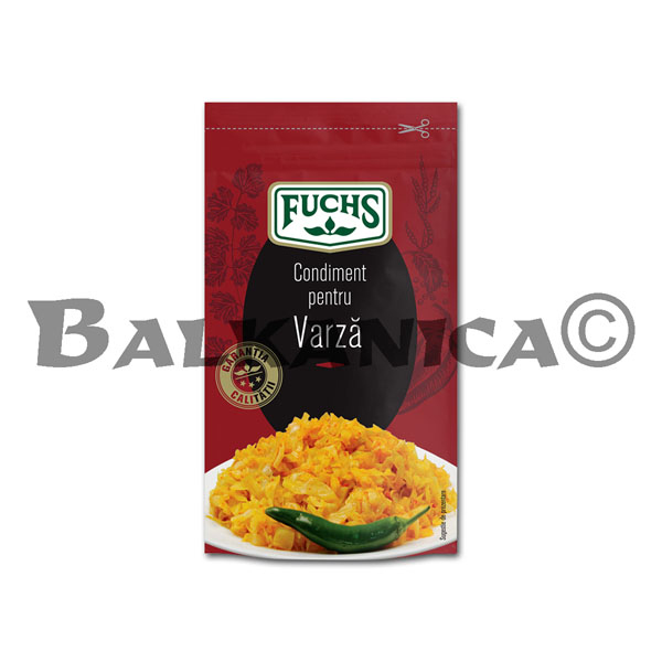 20 GR SPICE FOR CABBAGE FUCHS
