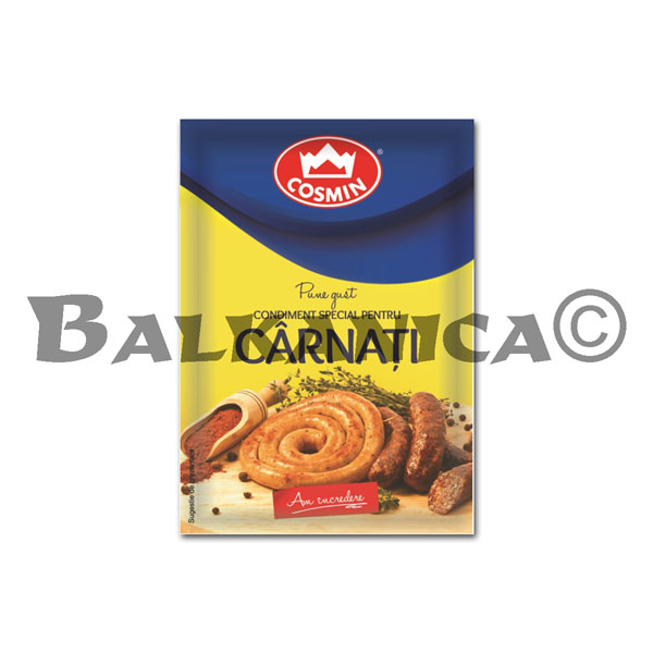 20 GR SPICE FOR SAUSAGE COSMIN