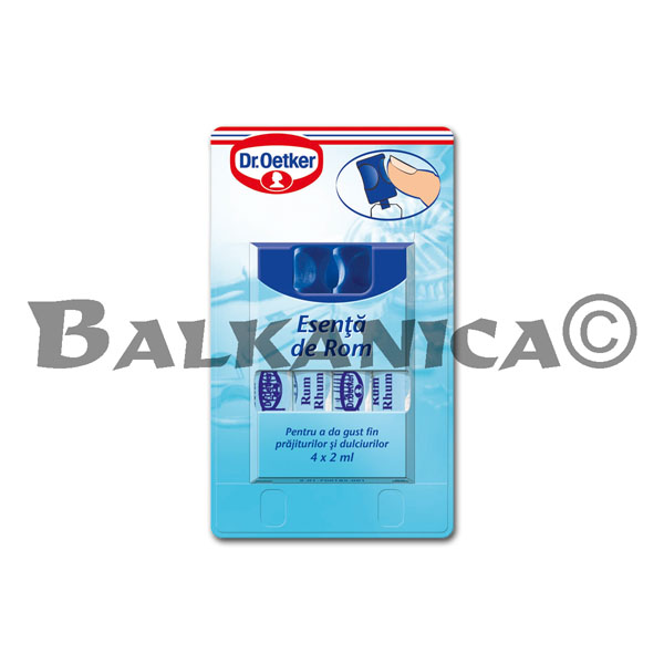 8 ML ESENCIA RON DR.OETKER