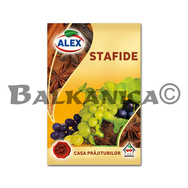 50 GR RAISINS ALEX